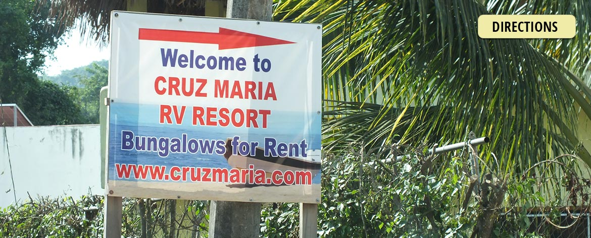 Directions to Cruz Maria